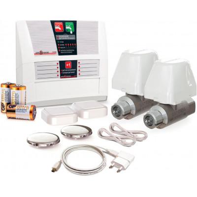 Система защиты от протечек Аквасторож Классика Радио 2*15
