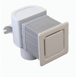 Вентиляционный клапан HL (Hutterer Lechner) 905 для канализационных стояков для скрытого монтажа DN 50/75