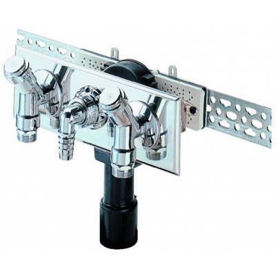 Сифон HL (Hutterer Lechner) 406.2 встроенный для стиральной или посудомоечной машины DN 40/50
