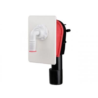 Сифон HL (Hutterer Lechner) 400.WE встроенный для стиральной или посудомоечной машины DN 40/50