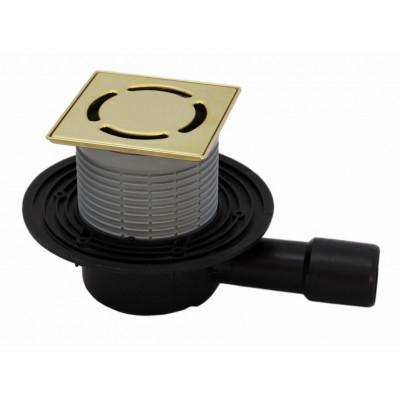 Трап HL (Hutterer Lechner) 510NPr-3000.3 решетка латунь из нерж стали 115х115 мм