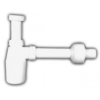"""Сифон HL (Hutterer Lechner) 132 бутылочный 5/4"""" для умывальников с регулируемой высотой погружной трубки"""