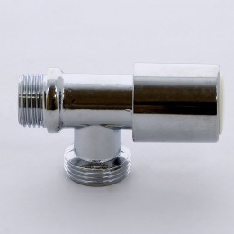 Вентиль ITAP 226 для стиральных машин компактный хромированный