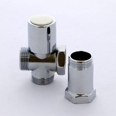 """Вентиль ITAP 230 проходной с удлинителем для стиральных машин хромированный 3/4""""х3/4""""х3/4"""""""
