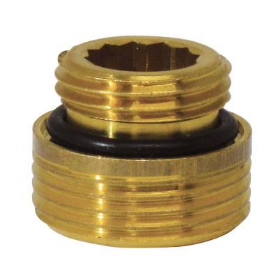 """Ниппель с плоскими торцами ITAP 306 для узлов к радиаторам с нижним подключением 1/2"""" х 3/4"""""""