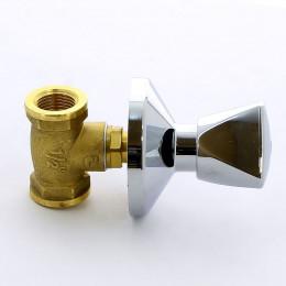 Кран ITAP 345 вентильный ВВ для скрытой подводки с хромированным вентилем