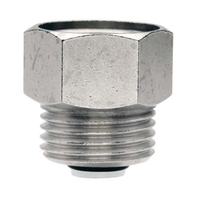 Клапан ITAP 365 для монтажа/демонтажа воздухоотводчика никелированный