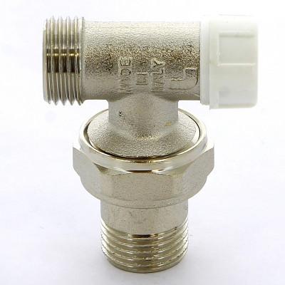 """Вентиль ITAP 397 НН угловой для радиаторов обратный с разъемным соединением 1/2"""" с O-ring"""