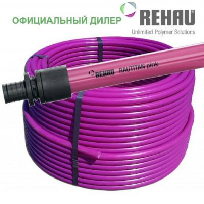 Труба Rehau Rautitan Pink 16, бухта 120 м