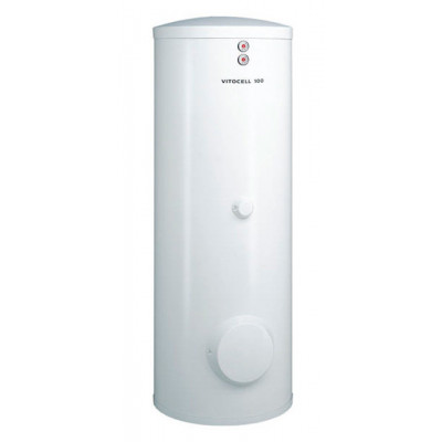 Бойлер Viessmann Vitocell 100-B 400 л косвенного нагрева, белого цвета