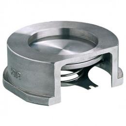 Клапан обратный Zetkama 275I пружинный нерж сталь межфланцевый